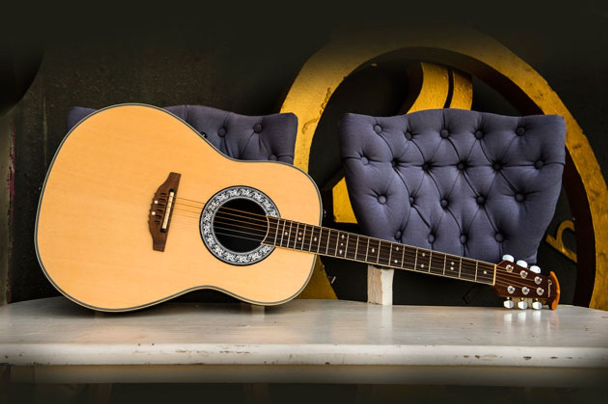 Ovation Guitars Reissues Glen Campbell Signature Models