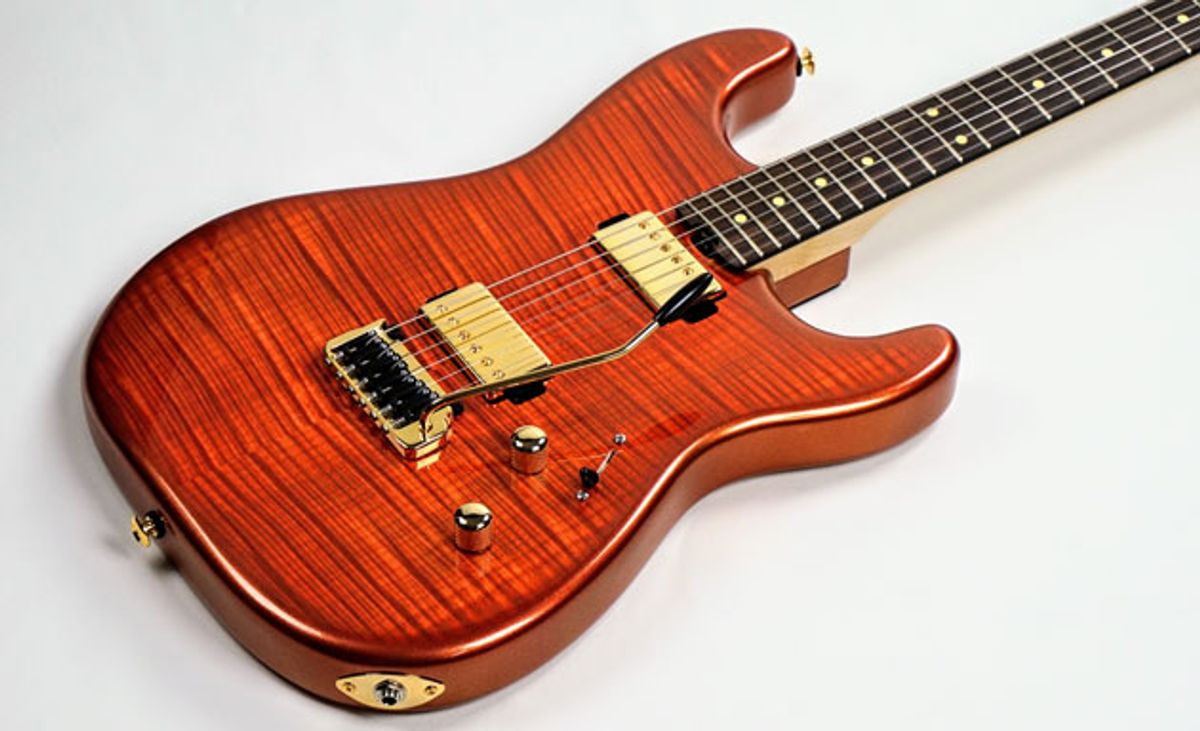 Iconic Guitars Introduces the Evolution Series S and S Limited Models