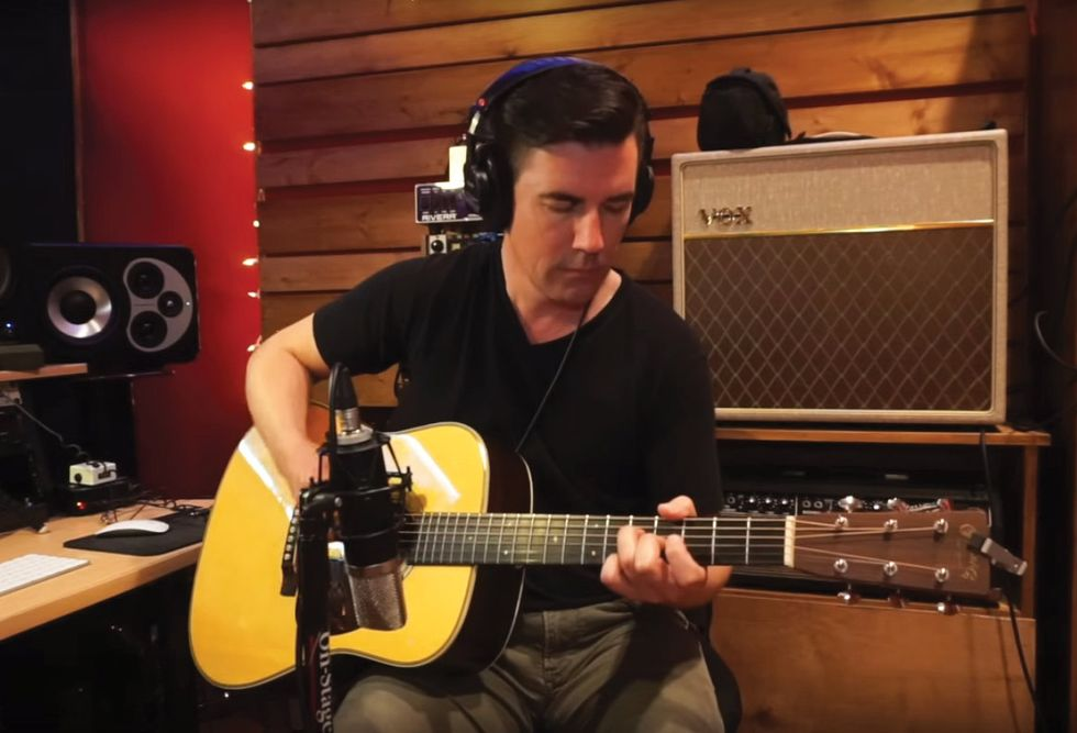 Tone Tips Quick Pointers For Recording And Mixing Acoustic Guitar