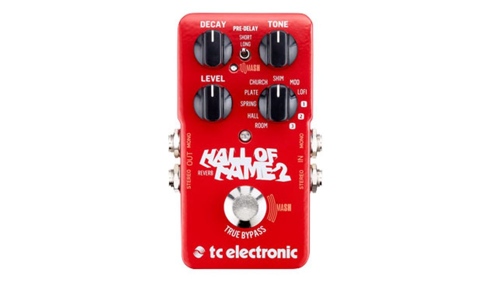 Tc Electronic Releases The Hall Of Fame 2 Reverb Premier