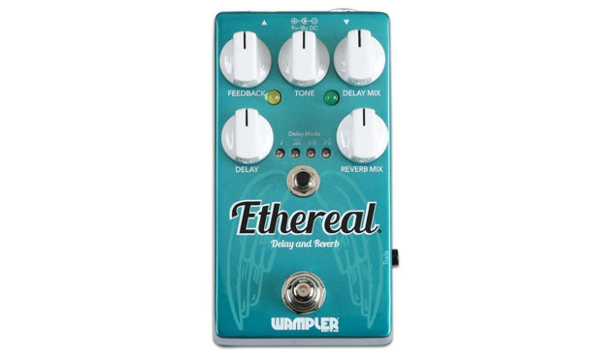 Wampler Releases the Ethereal Reverb & Delay