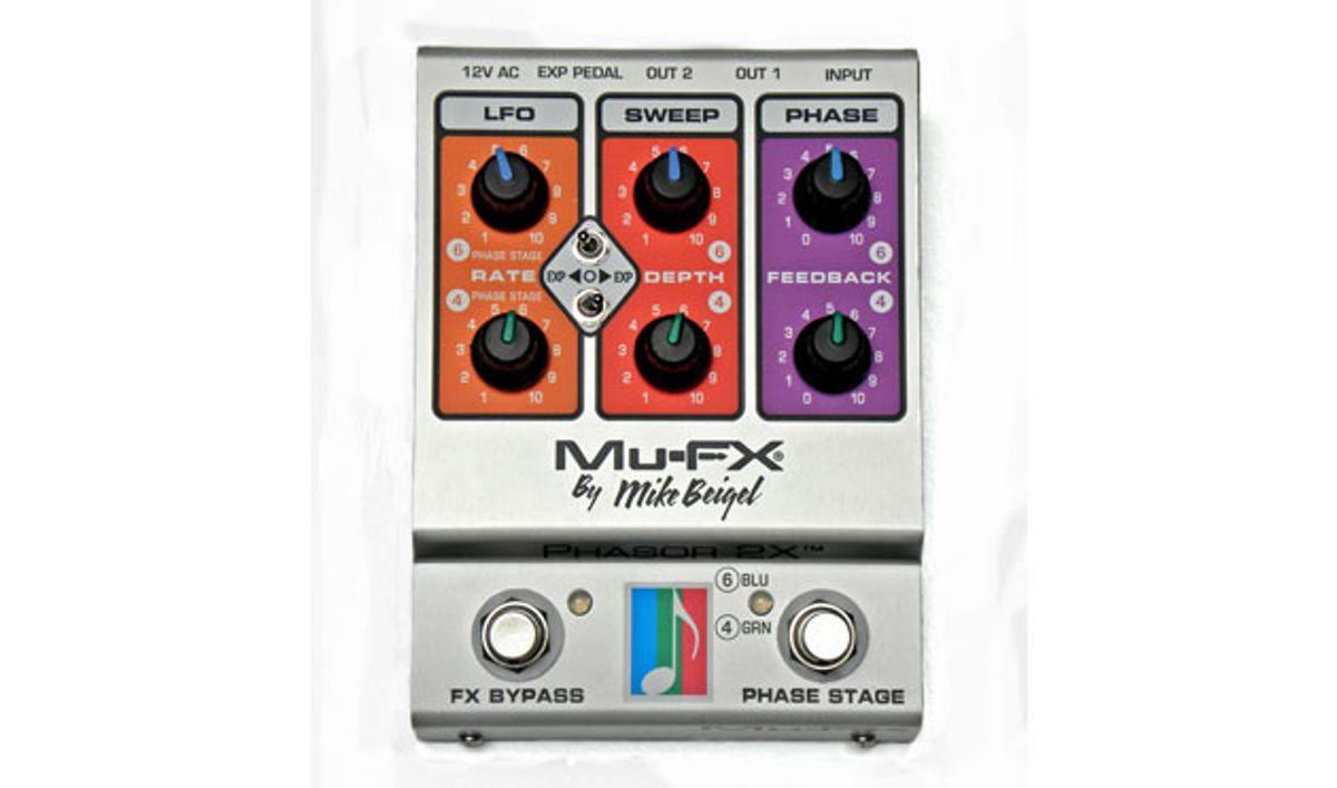 Mu-FX Releases the Phasor 2X