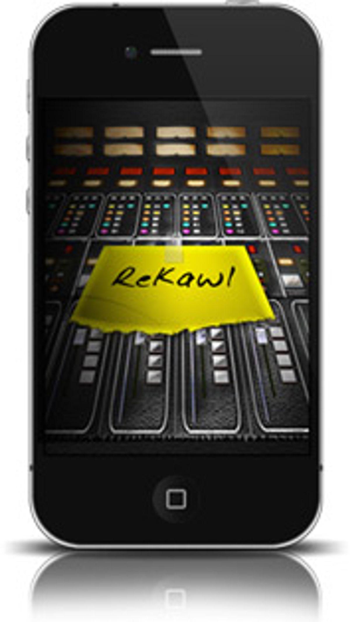Sahe Audio Announces ReKawl iPhone App