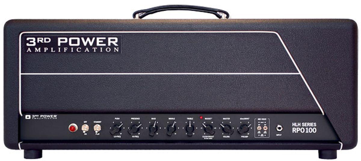 3rd Power Announces RPO100 Tube Amplifier