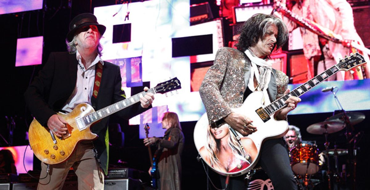Interview: Aerosmith's Joe Perry and Brad Whitford Let the Music Do the Talking