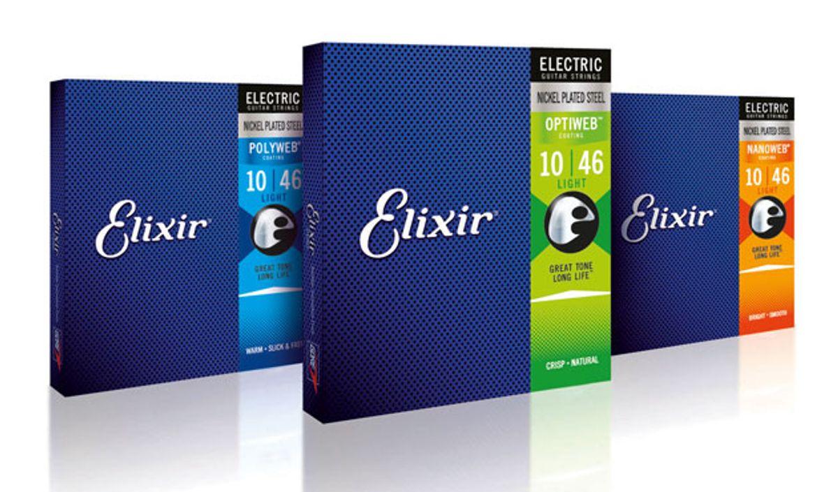 Elixir Strings Unveils Optiweb Technology
