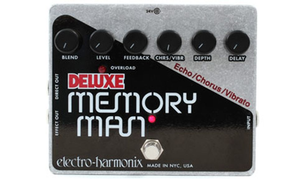 dating electro harmonix memory man Rare blue/red 4 knob electro harmonix deluxe memory man, dating from around 1977/8 it's in the best condition we've ever seen for such an early one.