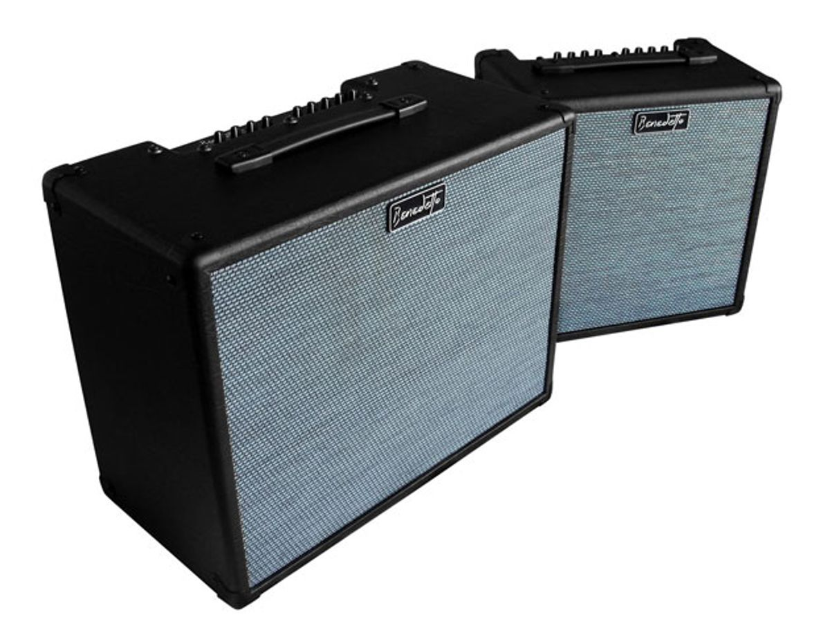 Benedetto Unveils New Line of Amps