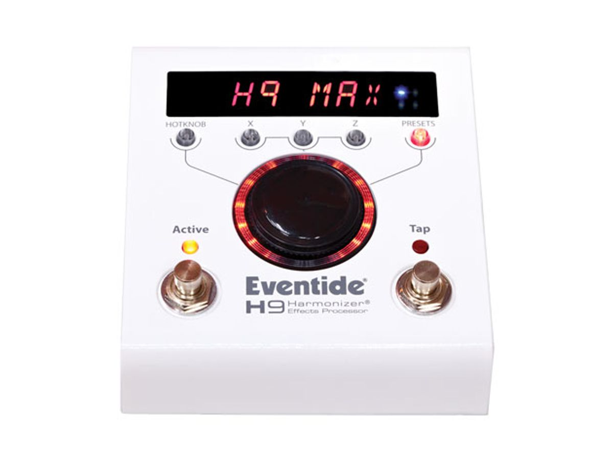 Eventide Unveils the H9 Max