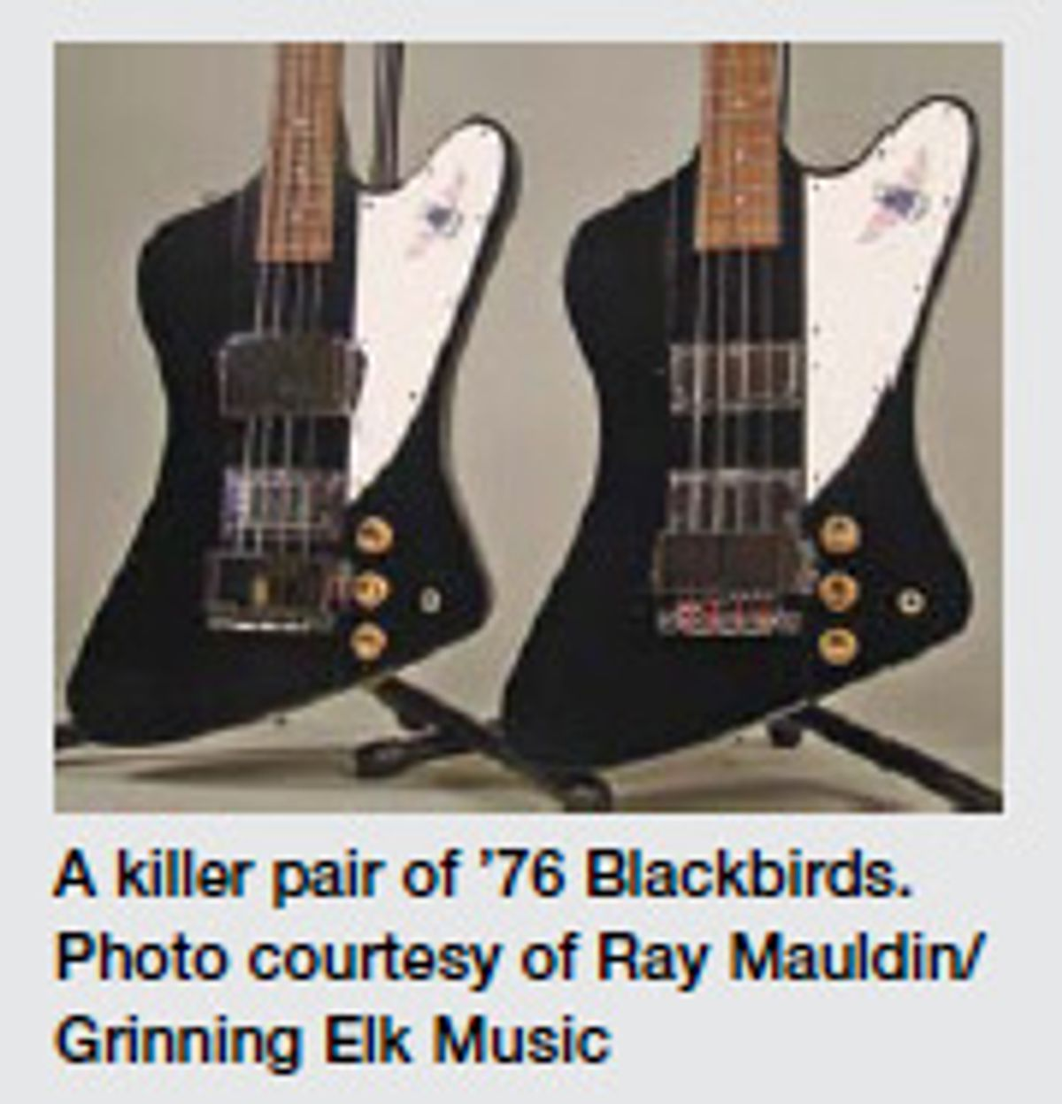The Gibson Thunderbird—One of the Greatest!