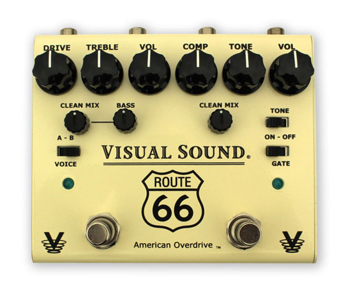 Visual Sound Unveils the V3 Route 66 American Overdrive