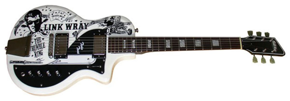 Eastwood Guitars Introduces the Link Wray Tribute Model
