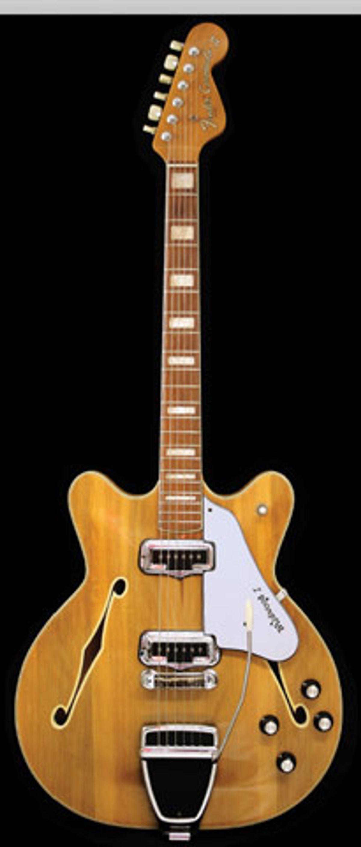 1968 Fender Coronado II, Wildwood I Finish