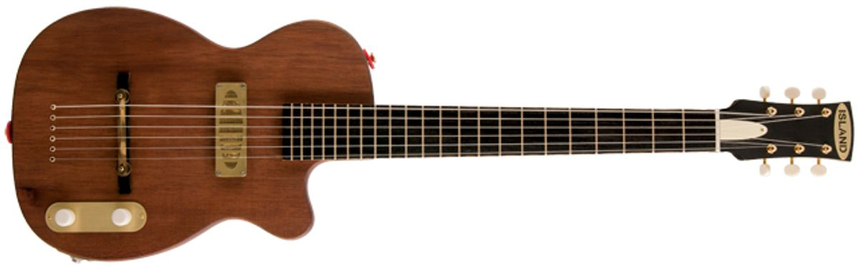 Island Forty-Four Electric Guitar Review