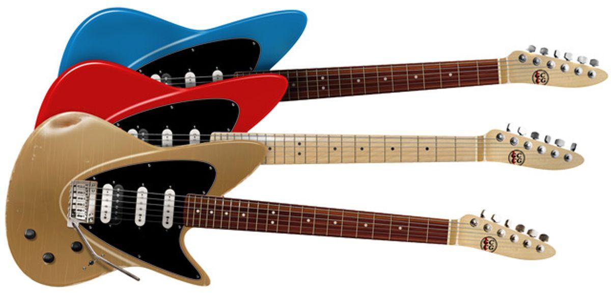 Guitar Crazy Custom Guitars Announces Mako Bold Guitars