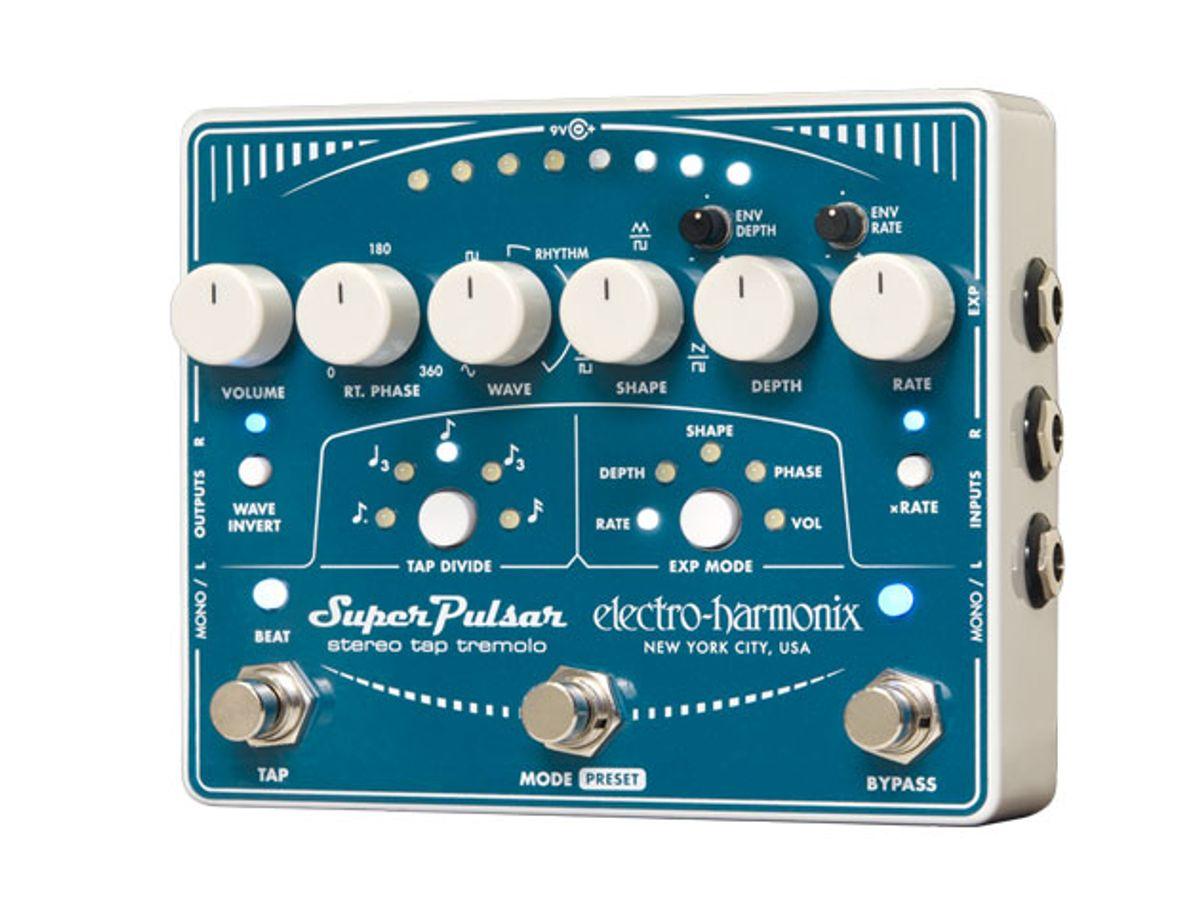 Electro-Harmonix Releases the Super Pulsar