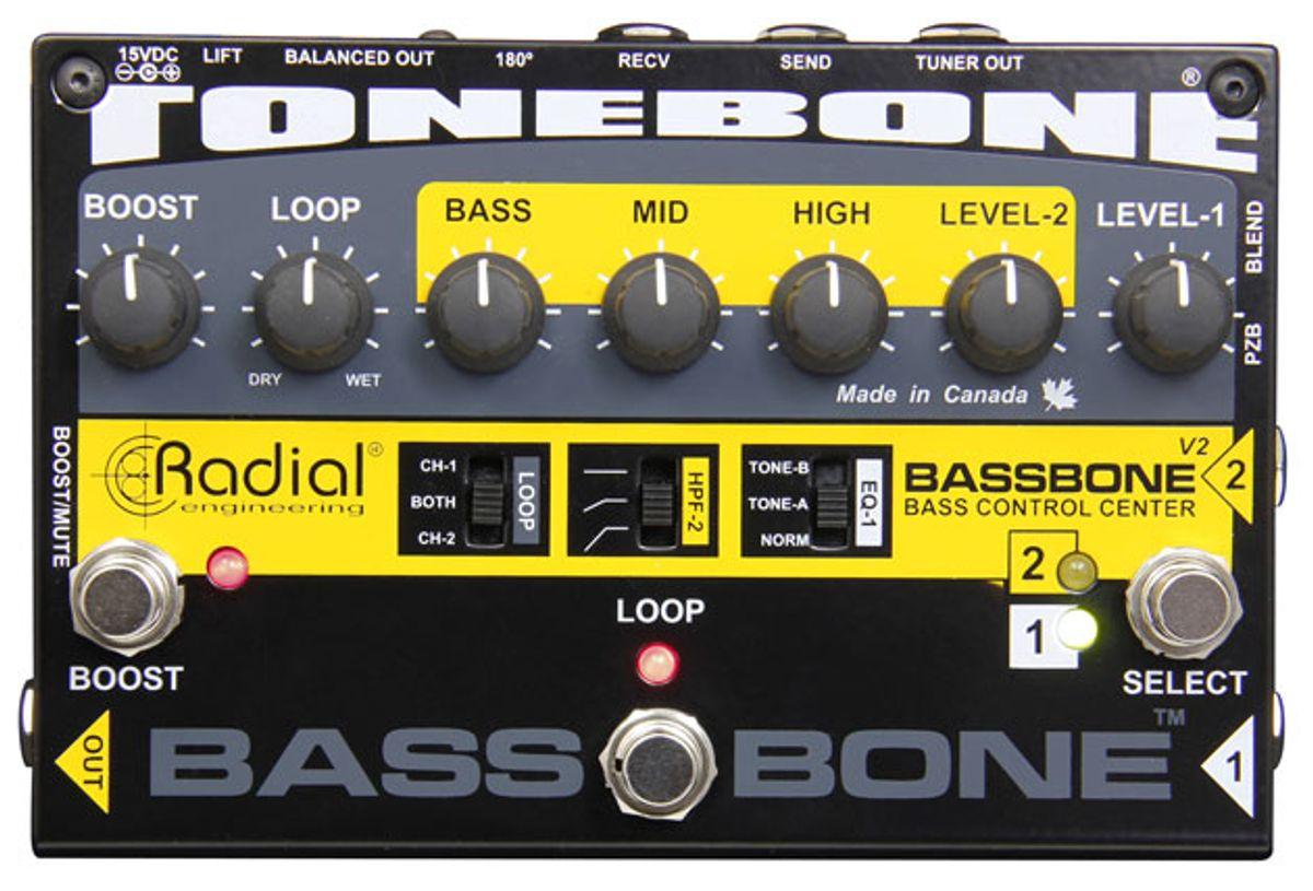 Radial Engineering Releases the Bassbone V2