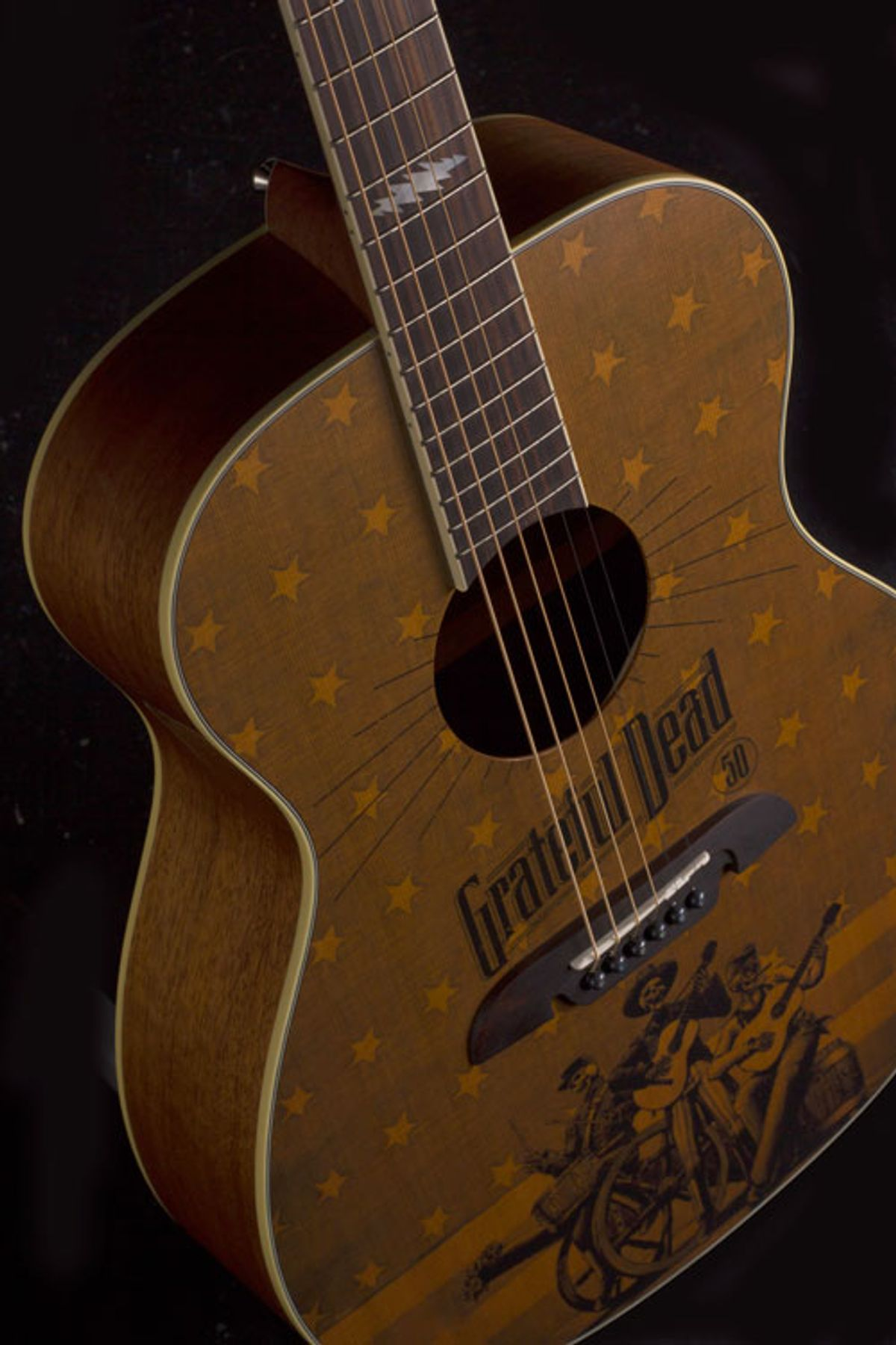 Alvarez Guitars Unveils the Grateful Dead Series