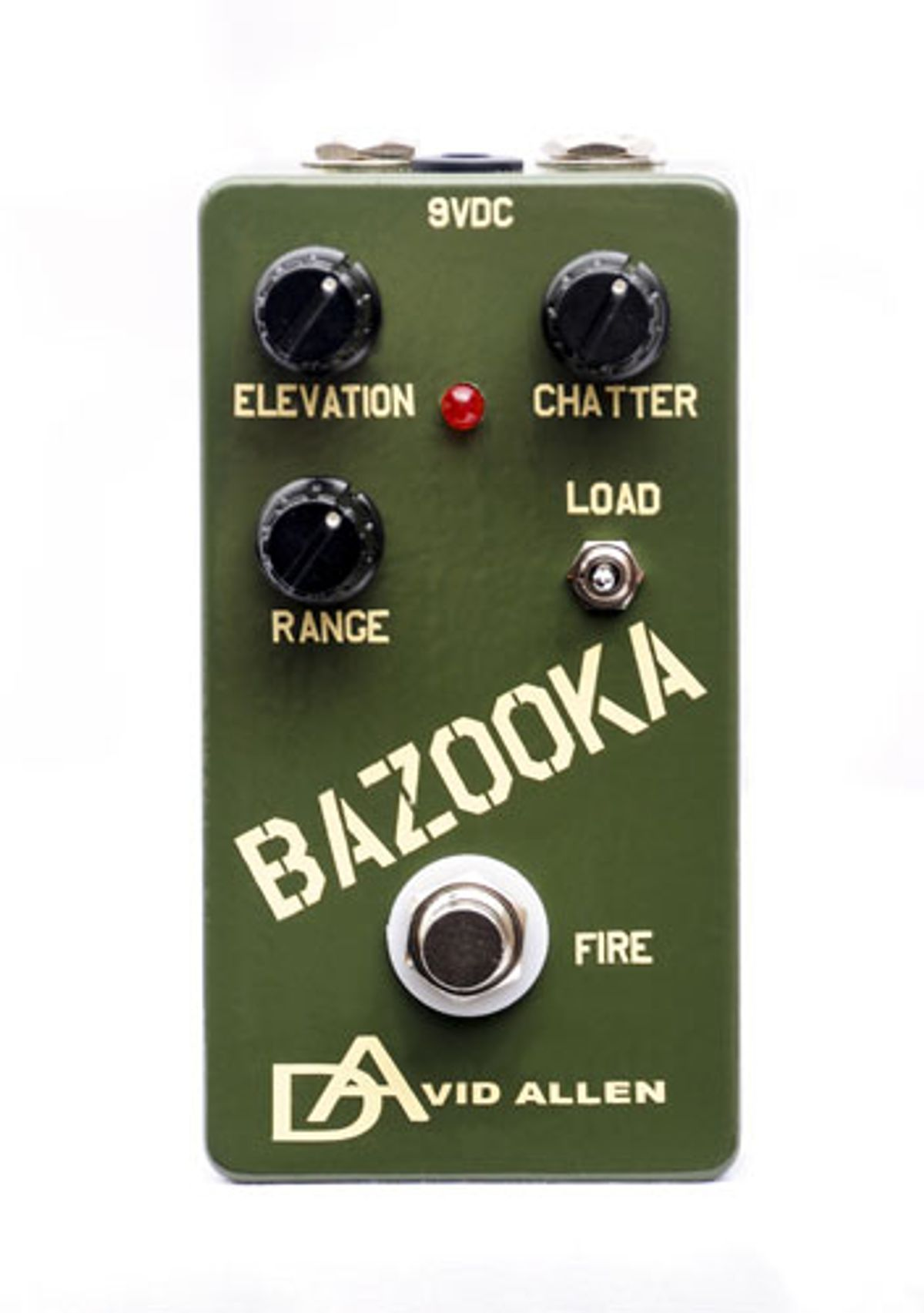 David Allen Pickups Announces the Bazooka Overdrive Pedal
