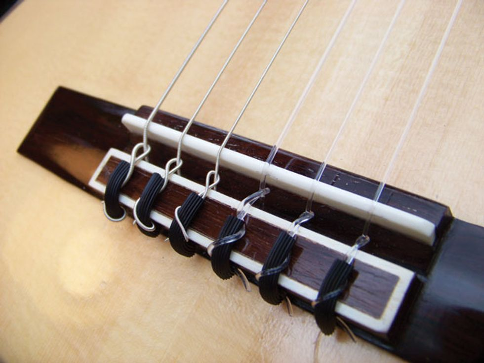 Mod Garage: Conquering Classical Guitar String-Changing Terror ...