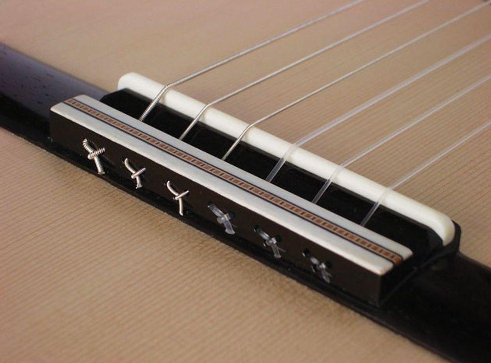 mod garage conquering classical guitar string changing terror premier guitar. Black Bedroom Furniture Sets. Home Design Ideas