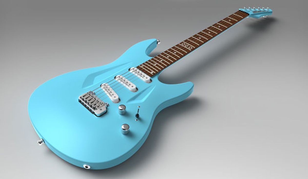 Aristides Instruments Adds SSS Model to the 060 Guitar Line
