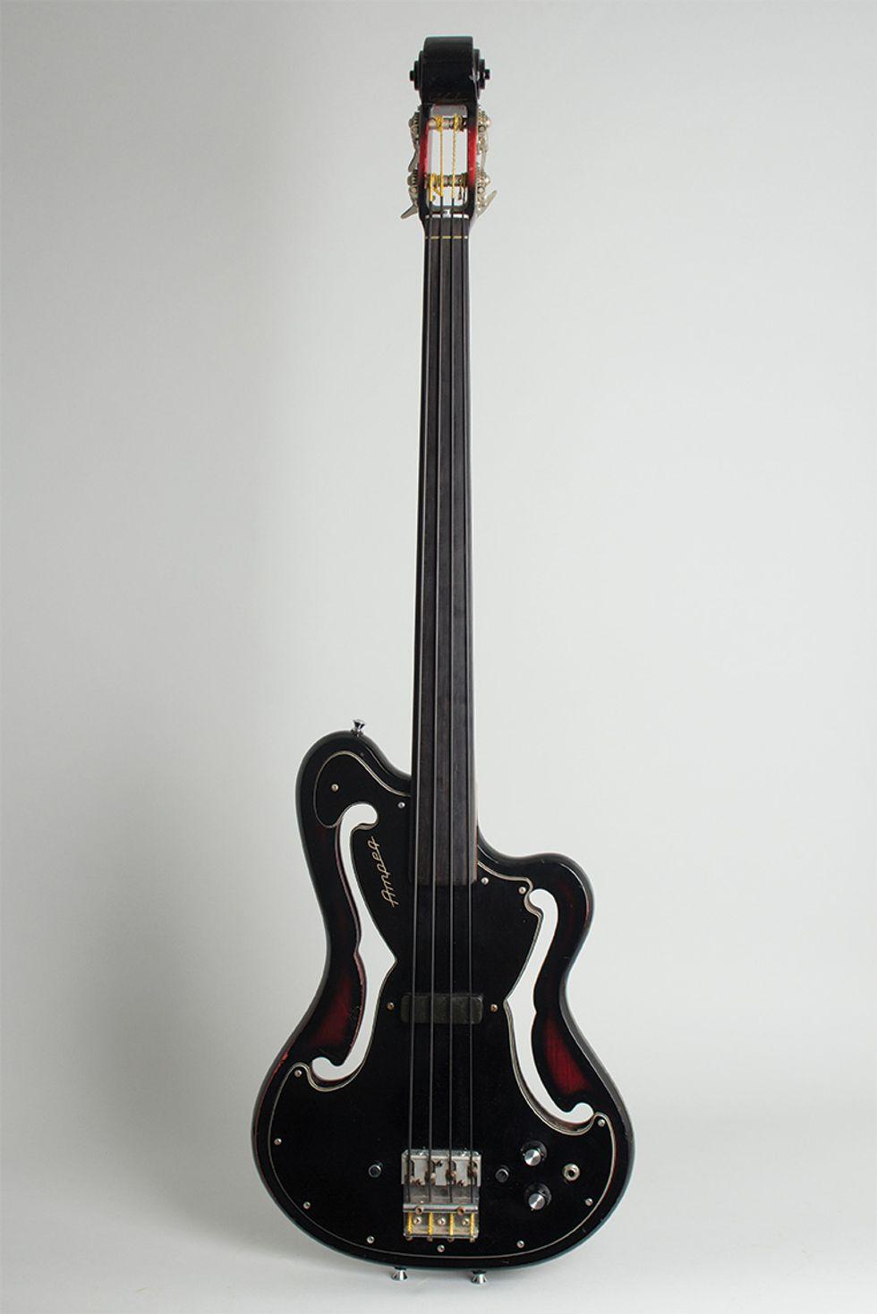 Walter Becker's 1968 Ampeg AMUB-1 Bass homepage