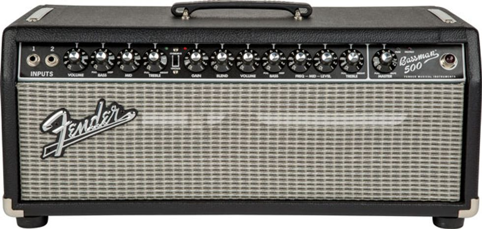 Fender Introduces the Bassman 500, Rumble 210 Cabinet, and Rumble ...