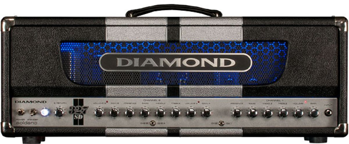 Diamond Amplification and Soldano Custom Amplification Team Up for the 327SD