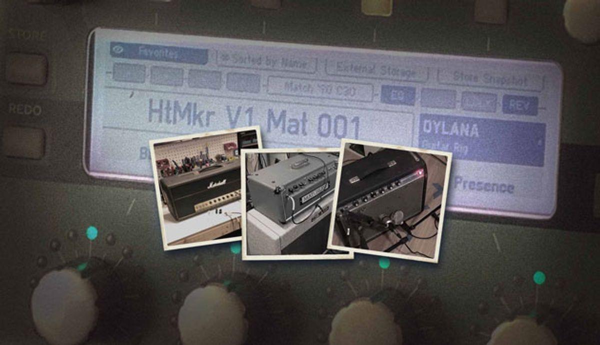 3rd Power Announces Hit Makers Volume One Kemper Amp Profiles