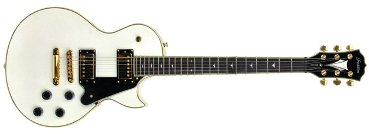 Tradition S2000 Deluxe Electric Guitar Review