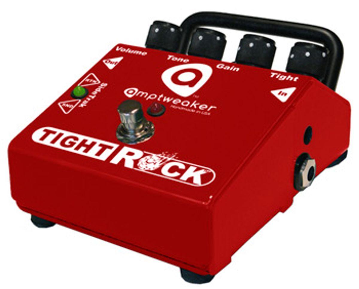 AmpTweaker Releases TightRock Distortion Pedal