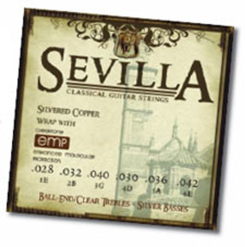Sevilla Classical Guitar Strings with EMP Treatment