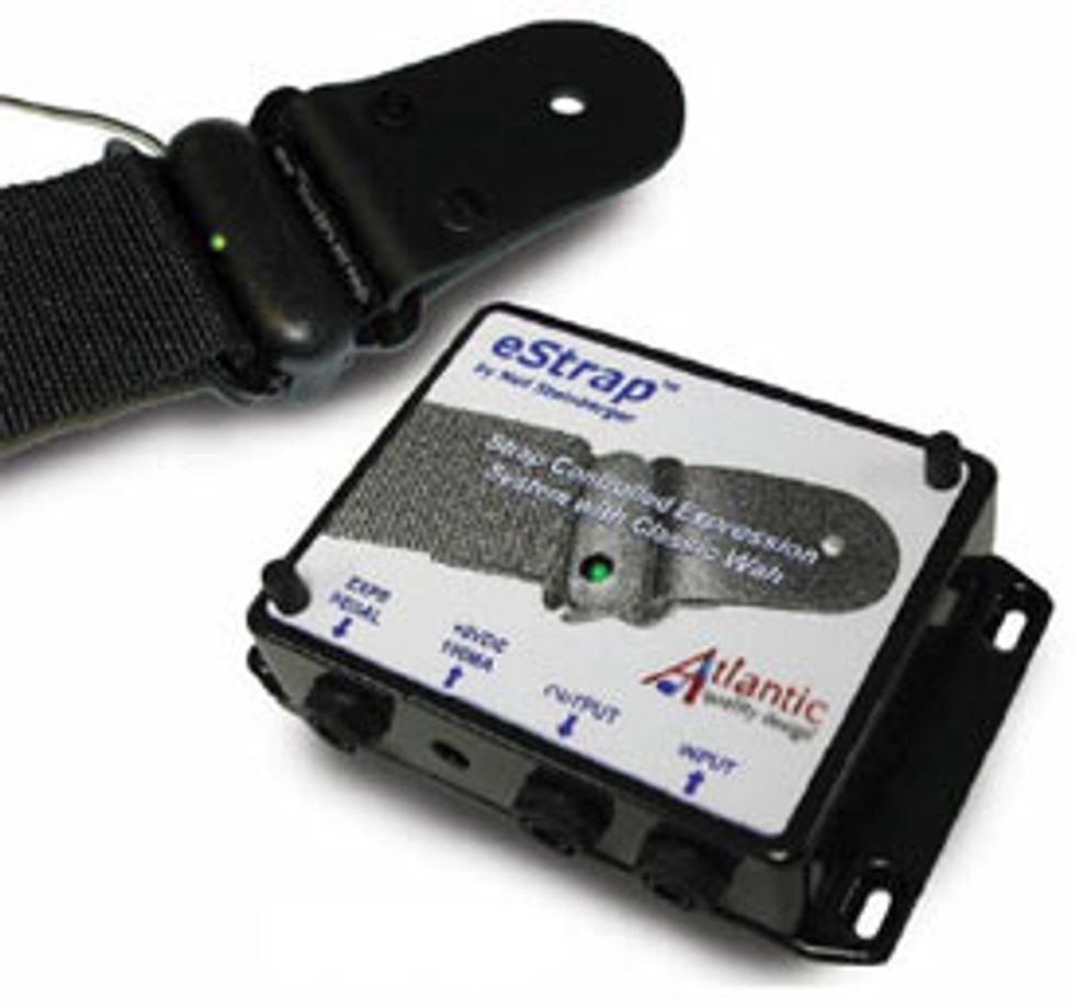 Wireless eStrap Controlled Expression System
