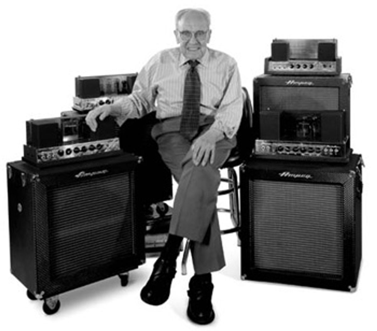 Remembering Jess Oliver, Inventor of the Ampeg B-15