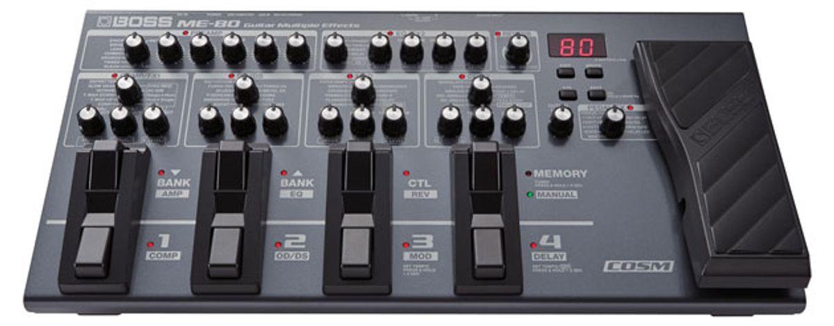 Boss Announces ME-80 Guitar Multiple Effects