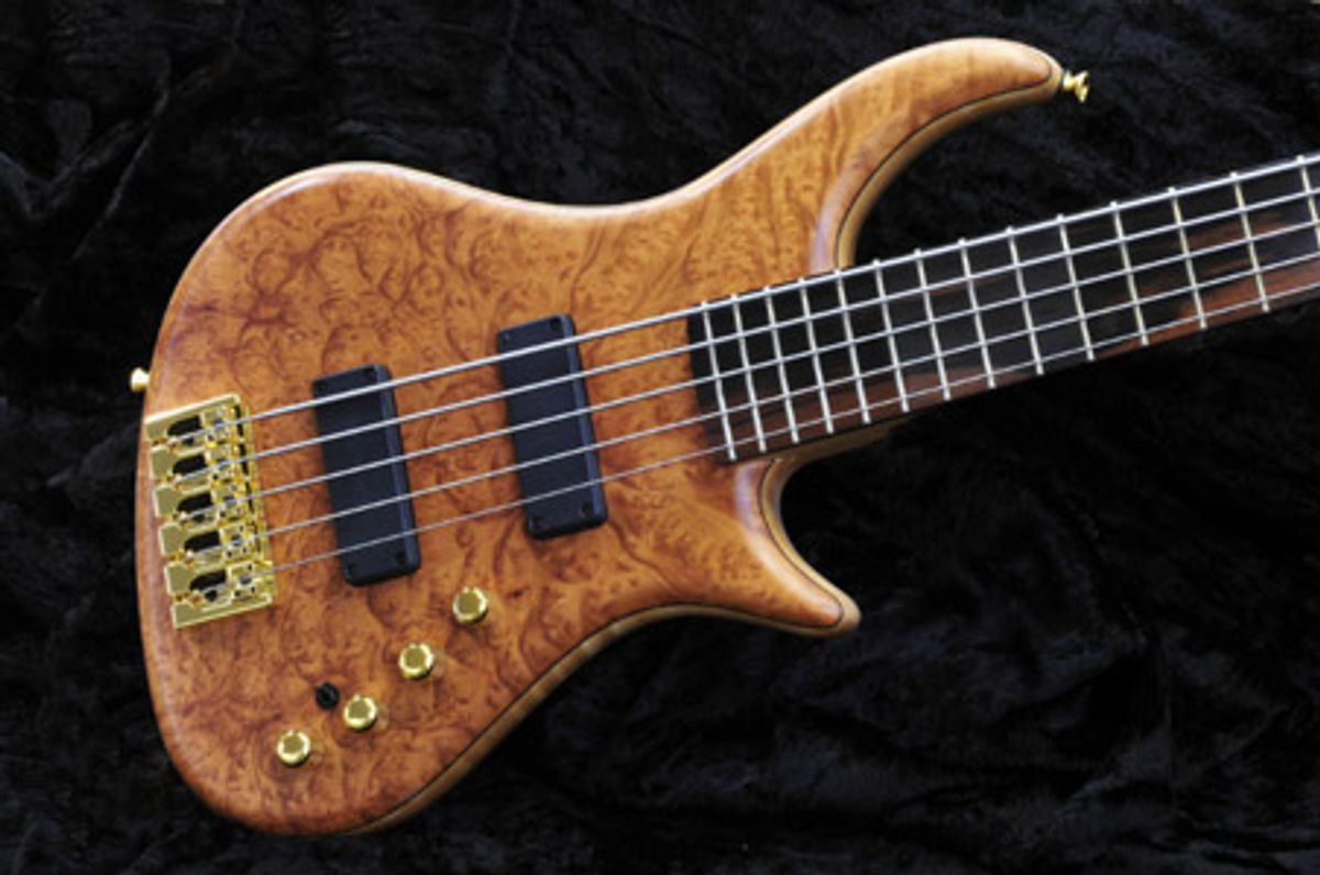 Pedulla Guitars Introduces the Nuance Bass