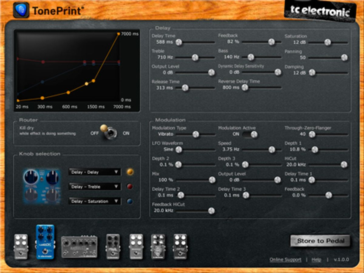 TC Electronic Announces Free TonePrint Editor