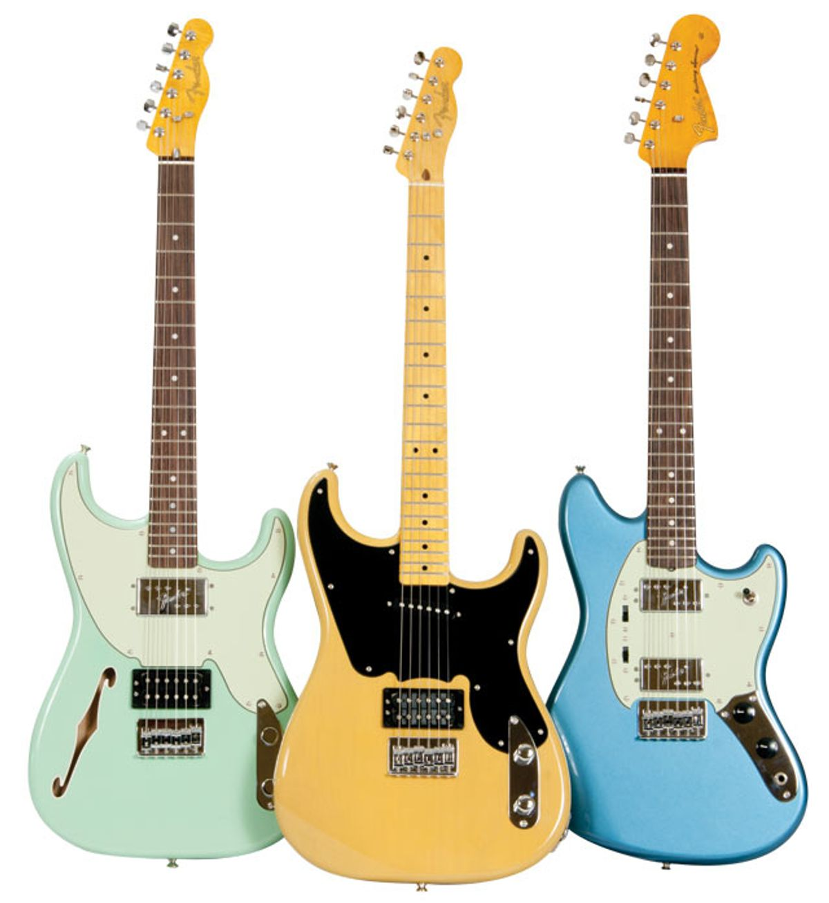 Fender Pawn Shop Series '51, '72, and Mustang Special Guitar Reviews