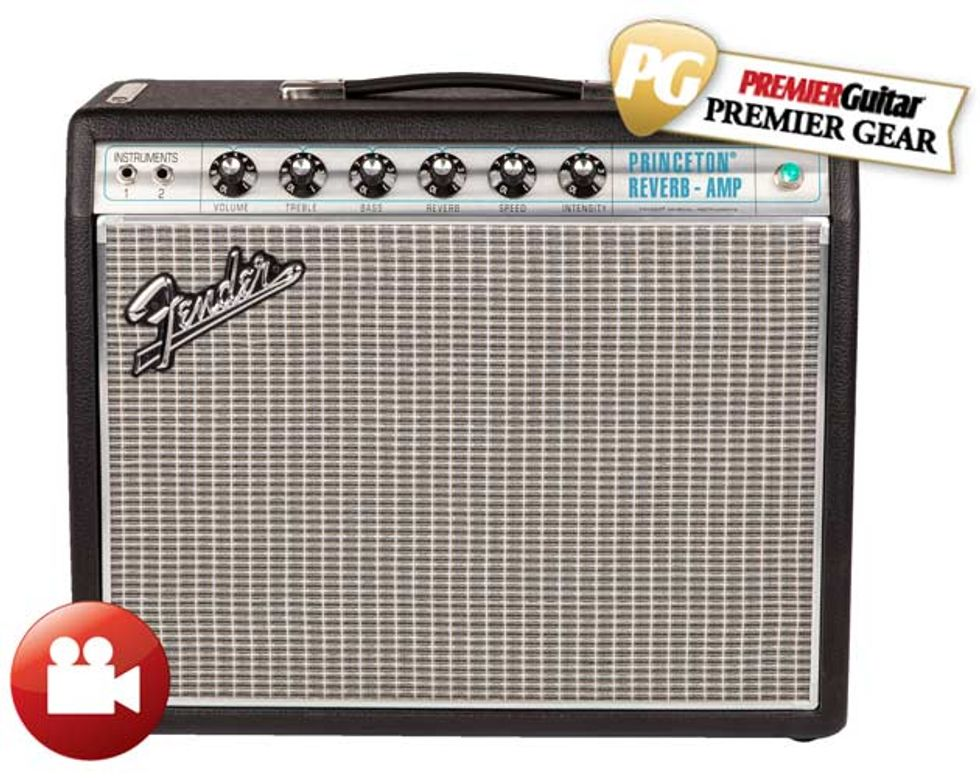 fender 39 68 custom princeton reverb review premier guitar. Black Bedroom Furniture Sets. Home Design Ideas