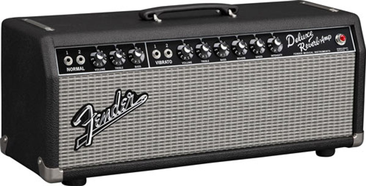 Fender Introduces '65 Deluxe Reverb Head and '57 Deluxe Head