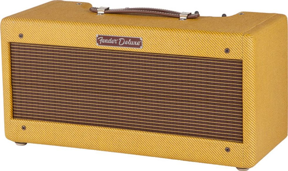 fender introduces 39 65 deluxe reverb head and 39 57 deluxe head 2014 01 08 premier guitar. Black Bedroom Furniture Sets. Home Design Ideas