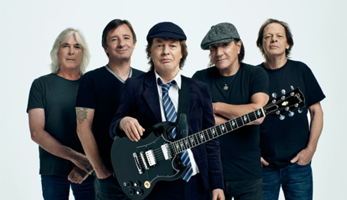 AC/DC Unveils New Album Power Up