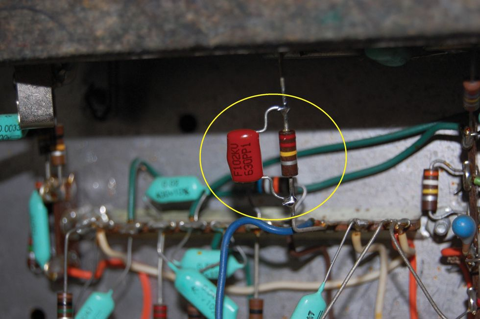 Ask Amp Man A 60s Premier Combo Gets Cleaned Up For Dirty Work Guitar Input Jack Wiring Nov17 Pg Clm G2r Fig 2 Web