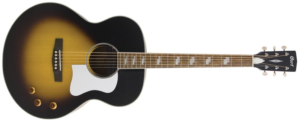 Cort CJ Retro Jumbo Review   Premier Guitar