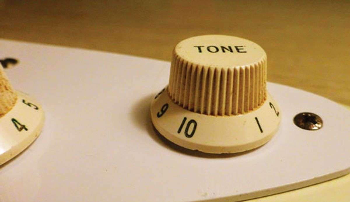 Mod Garage: Dialing in the Passive Tone Control