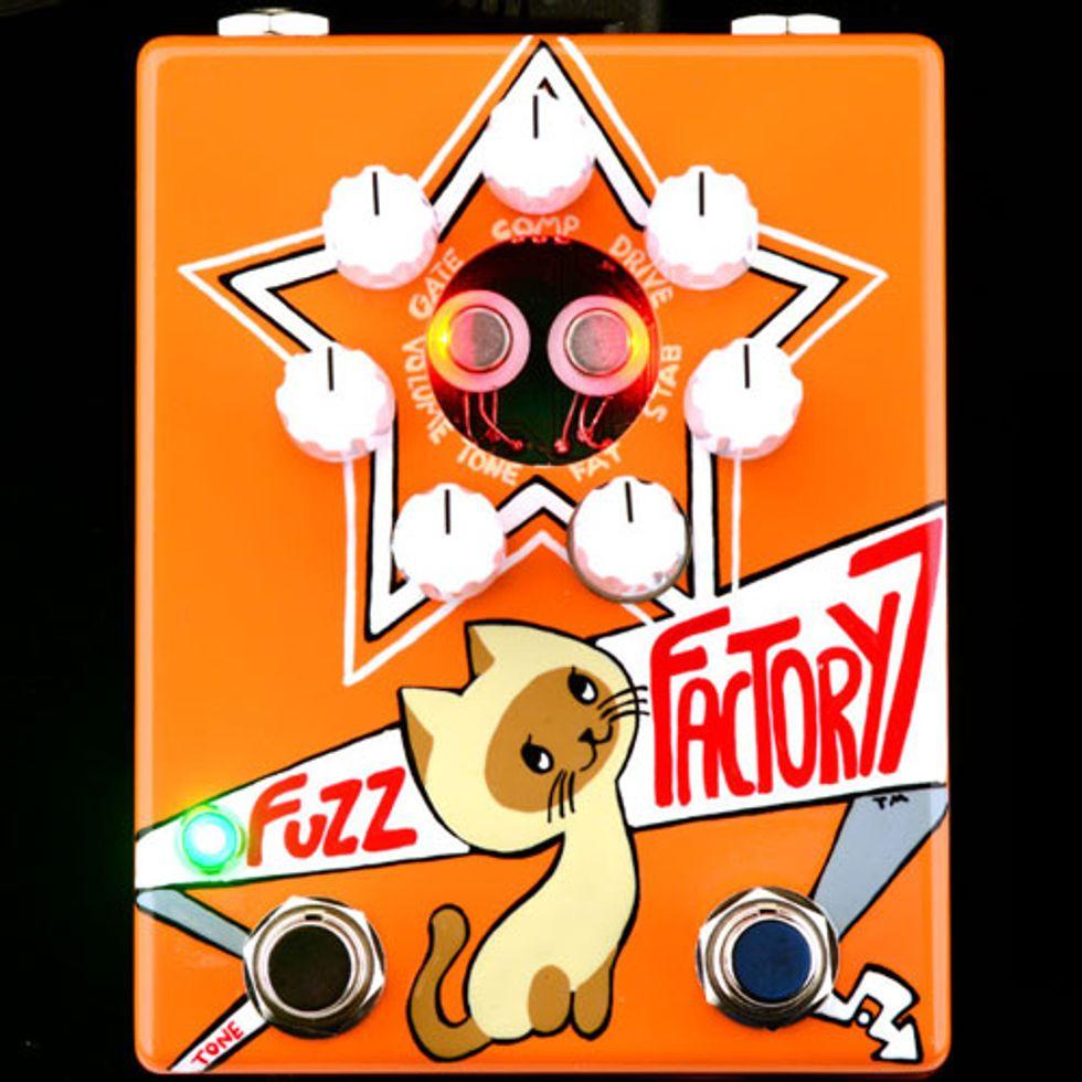 ZVEX Debuts the Russian Fuzz Factory 7