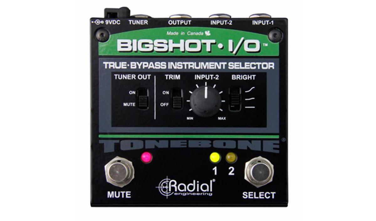 Radial Introduces Updated Tonebone BigShot