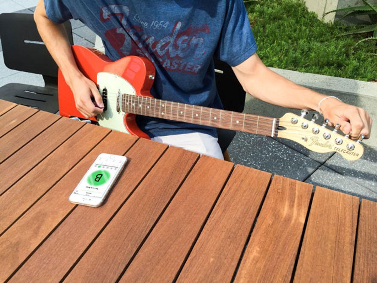 Fender Introduces iOS Tuner App