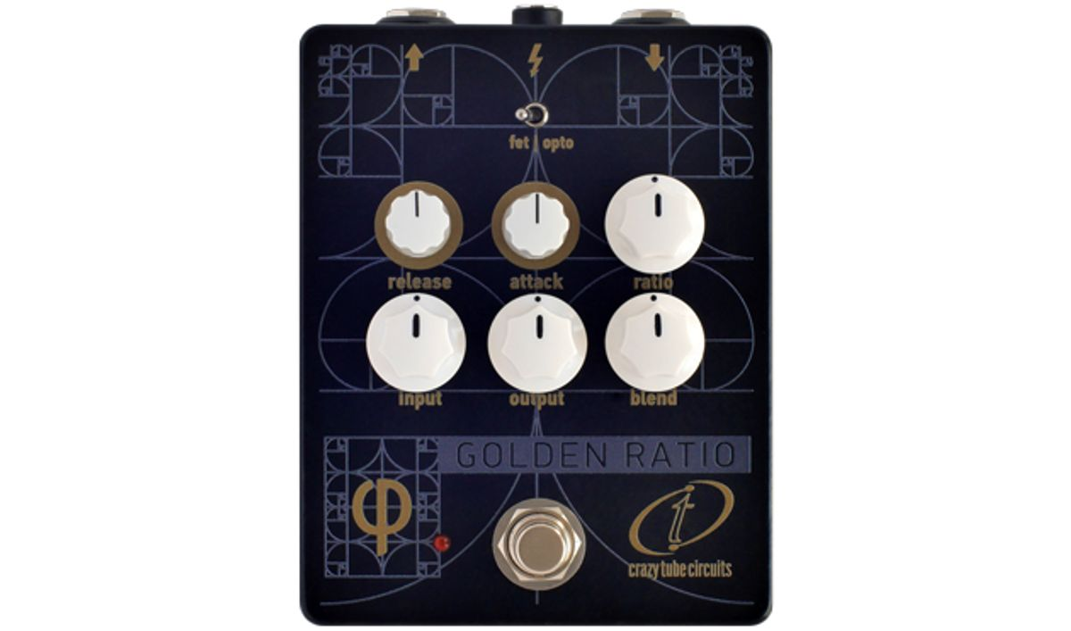 Crazy Tube Circuits Introduces the Golden Ratio Phi